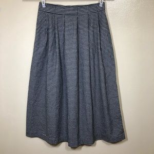 Orvis Sporting Traditions Checked Pleated Skirt